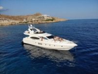 Azimut Plus 68 in Mykonos for hire