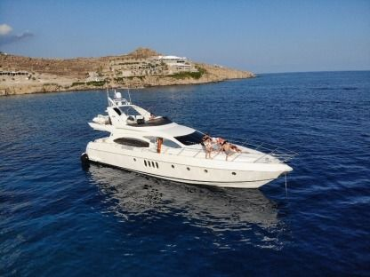 Rental Motorboat Azimut Plus 68 Mykonos