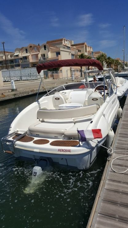 Charter Motorboat Rio 600 Iberia Narbonne