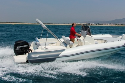 Location Semi-rigide Marlin 580 Naxos