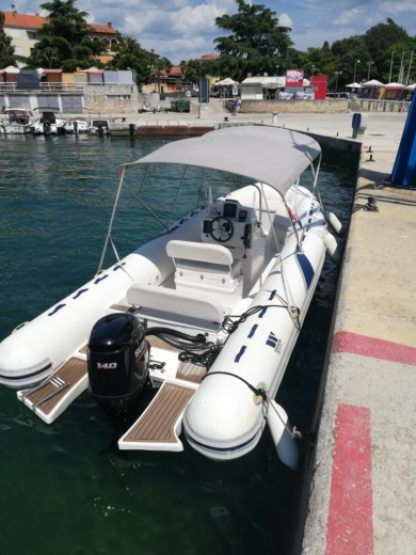 Rental Motorboat Proline Tigermarine 620 Poreč