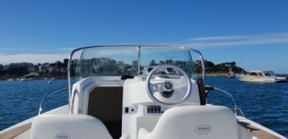 Rental Motorboat Sessa Marine Key Largo Sundeck 22 Dinard