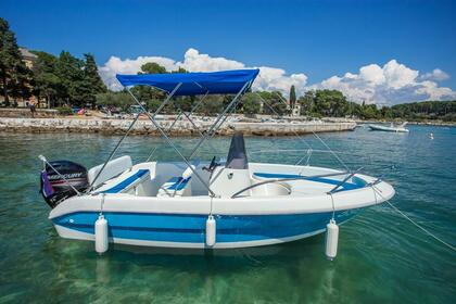 Charter Motorboat Aquamax Fisher 17 Rovinj