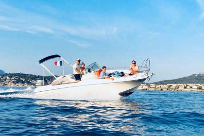 Hire Motorboat JEANNEAU Cap camarat Open 625 Six-Fours-les-Plages