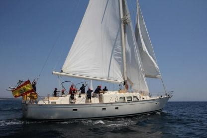 Rental Sailboat Hatteras 65 San Roque