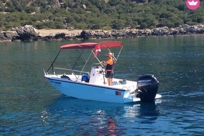 Hire Motorboat Mare 5.5m 80hp Chania