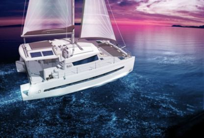 Charter Catamaran Bali 4.0 With Watermaker Tortola