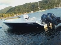 Motorboat 3M Composite Maran 30 for rental