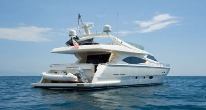 Rental Motorboat Ferretti 760 Naples