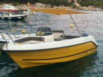 Motorboat Marinello 60Hp for rental