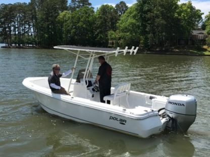 Rental Motorboat Polar 25 Galveston