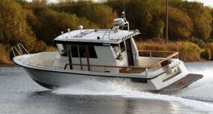 Rental Motorboat Fishing Boat 26Ft Msida