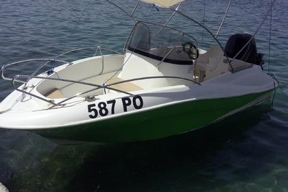 Charter Motorboat QUICKSILVER Commander 555 Vrsar