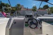 Rental motorboat in Trogir