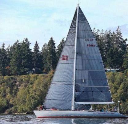 Charter Sailboat Santa Cruz Yachts Custom Seattle