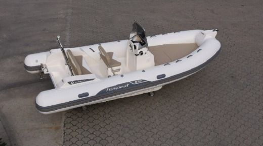 RIB Capelli Tempest 570 + Honda for hire