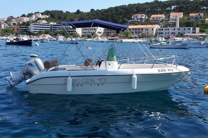 Hire Motorboat FISHER 17 Hvar