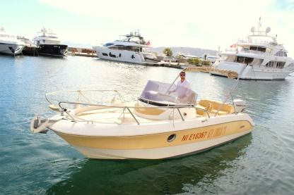 Rental Motorboat Sessa Marine Key Largo 26 Antibes