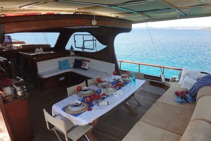 Hire Sailboat Custom Made Sidelya Bodrum