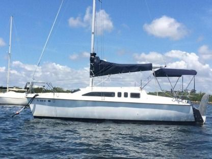 Charter Sailboat Hunter Marine Hunter 26' Miami