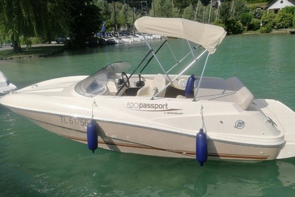Miete Motorboot QUICKSILVER 520 PASSPORT Annecy