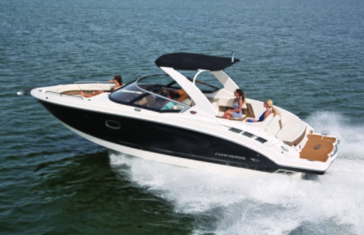 Motorboat Chaparral 256 SSI Bowrider for hire