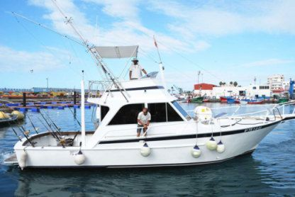 Charter Motorboat Striker 44 Sp Sport Fisherman Los Cristianos
