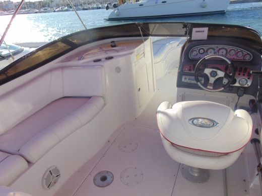 Motorboat Ebbtide 2400 Funship for hire