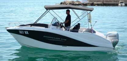 Rental Motorboat Okiboats Barracuda Krk
