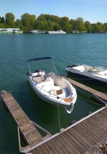 Motorboat Quicksilver 600 Commander
