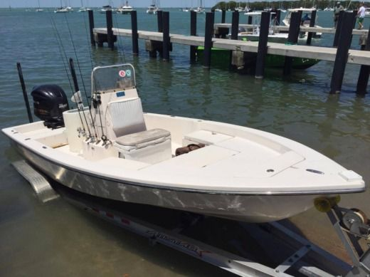 Charter Motorboat Fishing Boat 22 Ft Miami