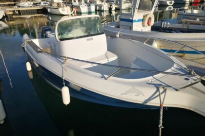 Rental Motorboat SPORTLAKE QUICKSILVER Saint-Cast-le-Guildo