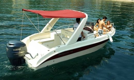 Motorboat Powercraft Glidepath 22 for hire