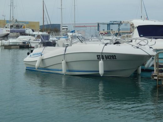 Motorboat Quicksilver Commander for hire