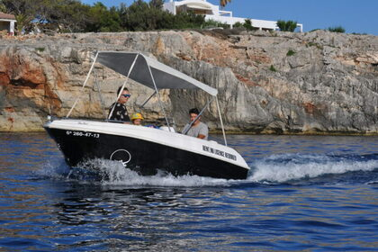 Rental Motorboat Compass 4,5 Menorca
