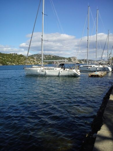 Jeanneau Sun Odyssey 45 in Šibenik for hire