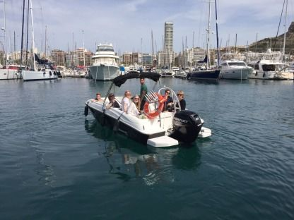 Rental Motorboat Bayliner 180 Alicante