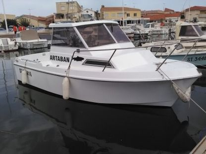 Charter Motorboat Arcoa Yacht Artaban Valras-Plage