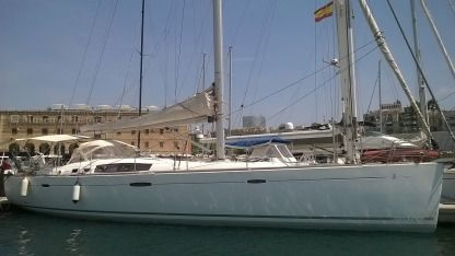 Charter Sailboat Beneteau Océanis 54 Propriano