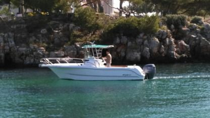Charter Motorboat Sessa Marine Key Largo 23 Menorca