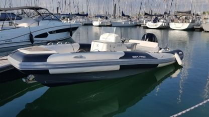 Location Semi-rigide Zodiac Sea Hawk 700 La Rochelle