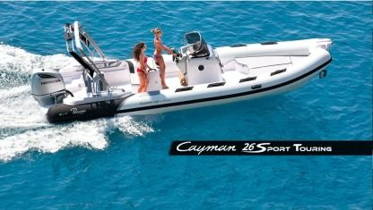 Location Semi-rigide Ranieri Cayman Lipari