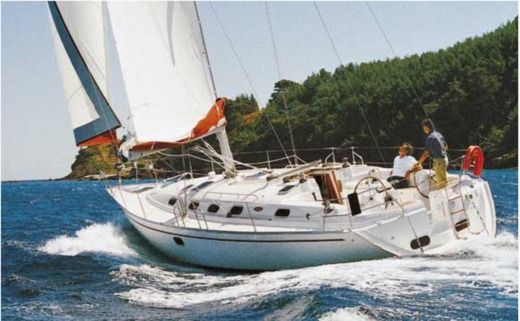 Sailboat Dufour Gib Sea 43 for hire