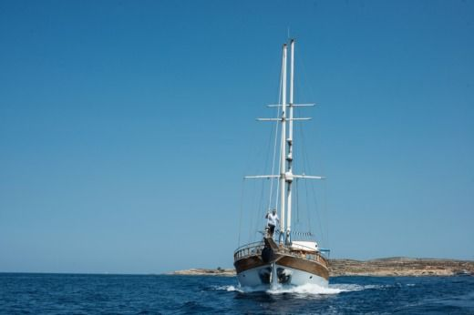 Turkish Gulet 21m in Malte for hire
