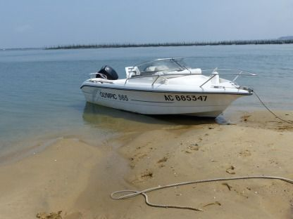 Rental Motorboat Ocqueteau Olympic 565 Arcachon