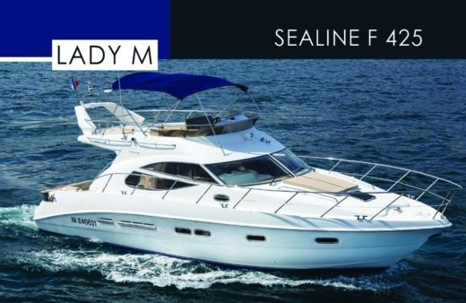 Motorboat SEALINE F425 for hire