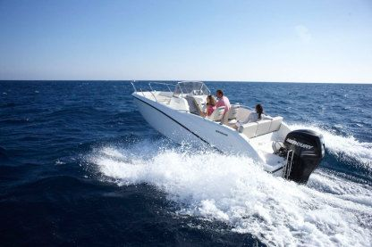 Rental Motorboat Quicksilver 675  Open Valras-Plage