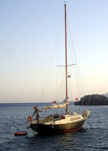Charter sailboat in Kos peer-to-peer