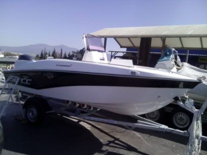 Charter Motorboat Compass 150 Cc Chalkidiki