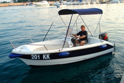 Hire Motorboat FISHERMAN Speedy 450 Krk